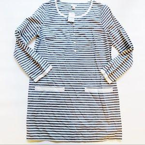 J. Crew Factory Dresses - JCREW FACTORY Stripe Dress with Pockets Small